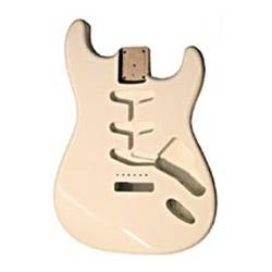 Body per Stratocaster in Alder olympic white