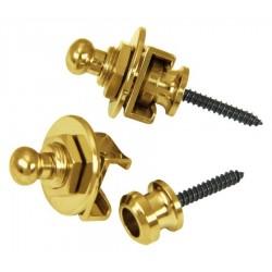 Strap lock dorato 2pz