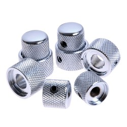 Dome knob cromato stacked set screw