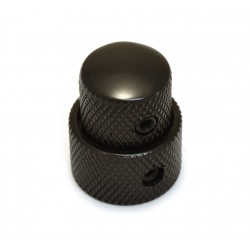 Dome knob nero stacked set screw